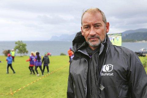 GLEDELIG: Bufetat har fått en dobling i antall henvendelser etter Arctic Race, til glede for regiondirektør Pål Christian Bergstrøm.