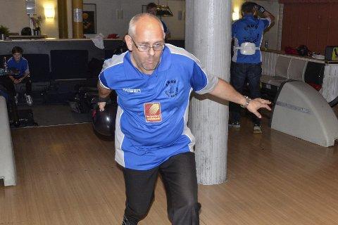 VETERAN: Tommy Pedersen er superveteranen på Rana bowlingklubbs lag som debuterer i toppserien med hjemmekamper mot Solli og Frogner i TP Bowlingsenter i helga.