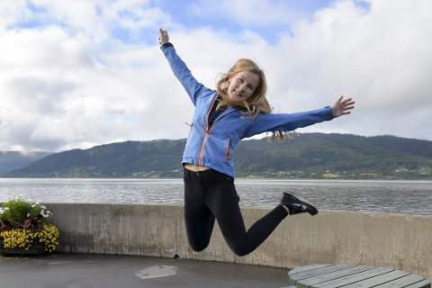 Spektrum: 14-årige Emma Røed fra Rana skal i november stå på scenen i Oslo Spektrum under MGPjr.