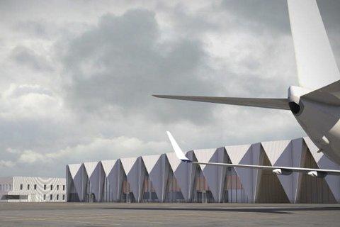 NY: Statsminister Erna Solberg (H) slo tidligere denne uka fast at hun og regjeringa har som ambisjon å bygge ny flyplass i Mo i Rana.