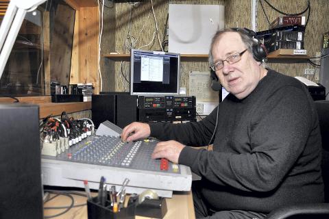 Dab-nei: Styreleder Paul Asphaug i Radio Korgen sier at det ikke er aktuelt å bli DAB-radio. Foto: Arne Forbord