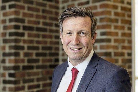 INDUSTRIPROSJEKT: Kjell Giæver jobber med å engasjere leverandører fra Nord-Norge. Oppdragsgiver er Statoil.