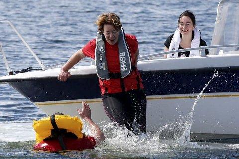 FALL: Bare 17 prosent av drukningsulykkenei fjor var ved bruk av fritidsbåt.