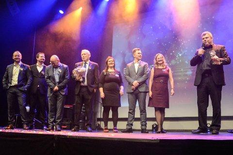 Bilalliansen var stolte over å bli stemt fram av folket som vinnerne av serviceprisen undet Gallaria 2016.