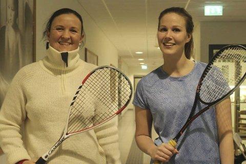 KM: Maria Stjernen (til v.) vant i fjor. Kristina Abelsen satset på revansj i finalen, men måtte se seg slått en gang til. Foto: Benedicte Wærstad
