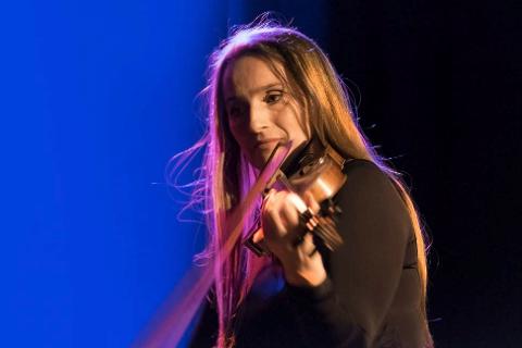 Susanne Lundeng spiller avslutningskonserten under Mo Kirkemusikkfestival 2017.
