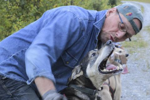 KLAR: Rune Haugmo er gdt i gang med oppkjrøinga til en ny sesong. Foto Privat