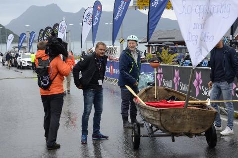 Under Arctic Race i fjor sommer gjorde Bjørn Oddvang og Nesna kystlag seg bemerket blant annet med ro-opplæring for Dag Otto Lauritzen i TV2. Kystlaget er blant de mange lag og foreninger som får inn penger fra grasrotandelen til Norsk Tipping.