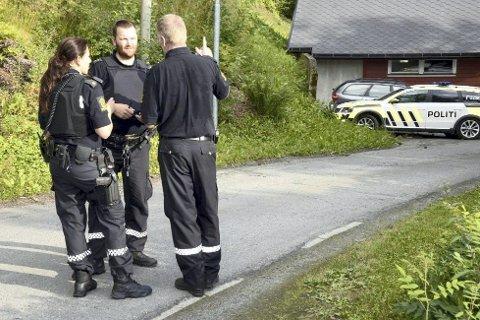RAN: Politiet rykket ut til boligen i Korgen.