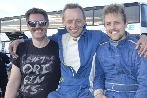 Team: Håkon Jacobsen, Hans J. Brygfjeld og Morten Kyllingmo.