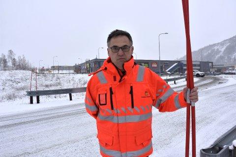 Per-Arne Tøgersen, byggeleder i Statens vegvesen