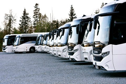 Asfaltlegging i Lars Meyersgate fører til at de nye bussrutene der må flytte til den gamle traseen opp Kirkegata og Nordlandsveien