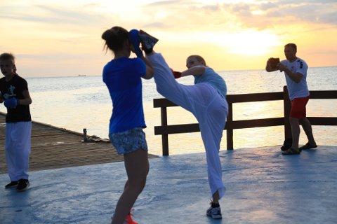 I karibisk varme og solnedgang har Ranas VM-deltakere funnet roen og forhåpentligvis toppformen.