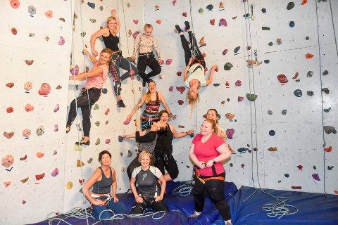 Dameklatring klatreklubb klatring