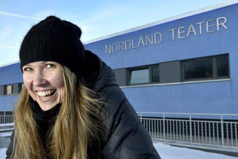 2018: Teatersjef Birgitte Strid slipper repertoaret for 2018, med blant annet Uår av Terje Vigen, Lille Eyolf og Mio min Mio.Foto: Øyvind Bratt