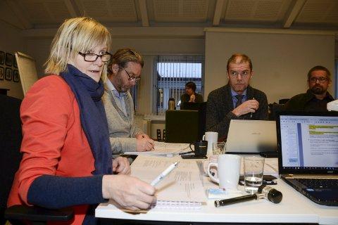 BRUDD: Ordfører Hanne Davidsen valgte å starte møtet i formannskapet en time før tiden, for å bli raskere ferdig. En slik framgangsmåte er brudd på kommuneloven. Foto: Arne Forbord