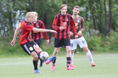 Åga IL-kaptein Henning Vassdal scoret to mål mot Mo IL 2.