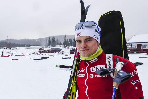 IBU: Fredrik Gjesbakk får gå IBU-renn i Sveits og Østerrike. Foto: Øyvind Bratt