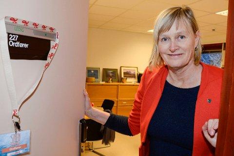 Ordfører Hanne Davidsen i Nesna gleder seg til polet kommer.