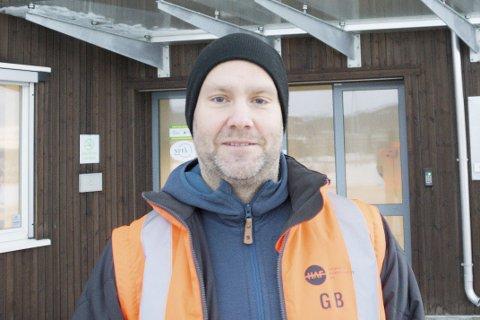 Miljø: Geir Benden, kommunikasjonsansvarlig i HAF, tror man blir mer opptatt av miljø om man kildesorterer.Foto: Emilie Sofie Olsen