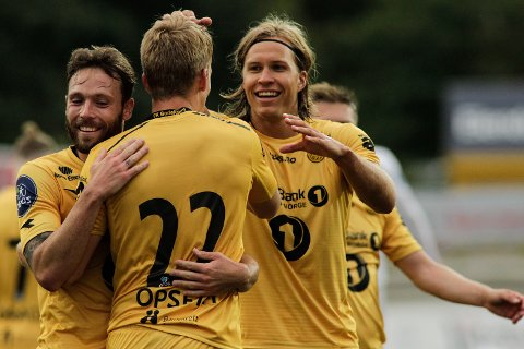 Martin Bjørnbak og Bodø/Glimt rykket opp i vår, og Bjørnbak er en av de nominerte til årets idrettsnavn. Foto: Mats Torbergsen / NTB scanpix