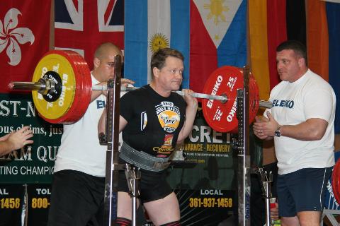 Jan Edvard Jensen fra Rana kraftsportklubb er en sterk mann, det har han bevist ved flere anledninger.