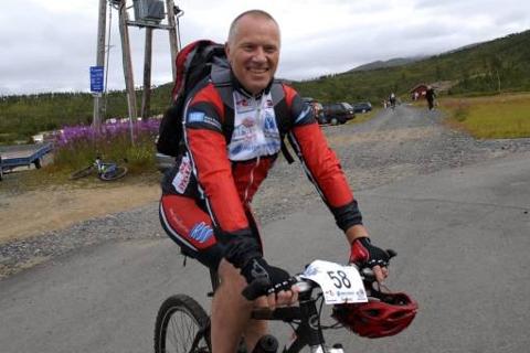 Kjell Martinsen er nestleder i sykkelkretsen.