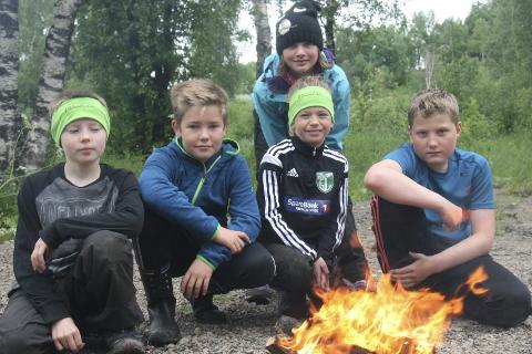 Ut på tur: Friluftsskolen er et tilbud til barn og unge i regi av Polarsirkelen friluftsråd.
