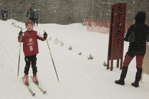 YNGST: Her er Markus Steinmo på vei til mål. Han gikk i rekruttklassen i Faillærennet.
