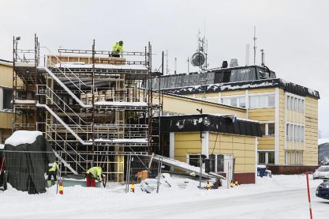 LETTERE: Ved å bygge et nytt inngangsparti håper MIP Eiendom det skal bli lettere å leie ut store ubenytta kontorlokaler i Gulbygget.