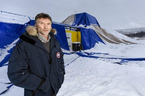 TØFF TID: Leder i hovedlaget i Stålkameratene, Trond Jøran Pedersen, venter ennå på at forsikringsspørsmålet skal bli avklart. Foto: Øyvind Bratt