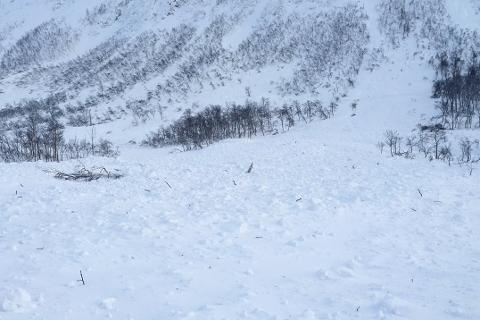 Det er meldt stor snøskredfare i helga.
