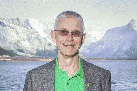 VIL PÅVIRKE: Fylkesleder Bror Martin Hanssen og MDG ønsker å påvirke politikken i mer miljøvennlig retning. Nå vil partiet å etablere lokallag i Mo i Rana. FOTO: MDG