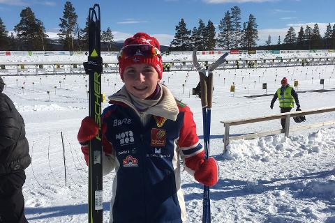 Marthe Kråkstad Johansen er i god form for tiden og vant dagens norgescuprenn i 18-årsklassen.