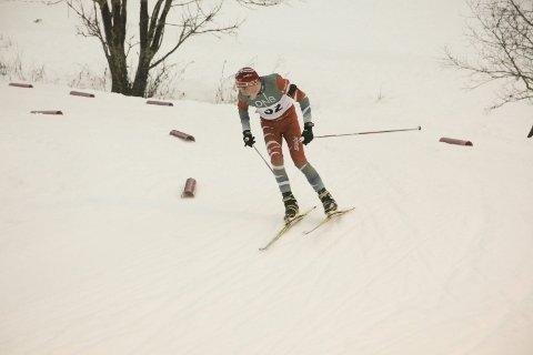 SEIER: Sondre Gjesbak vant med en strafferunde mer enn nestemann på sprinten på Voss Foto: Stian Forland