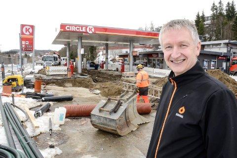 Rolf Olafsen, bensinforhandler Gruben Circle k