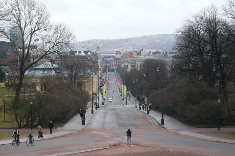 Karl Johans gate i Oslo.