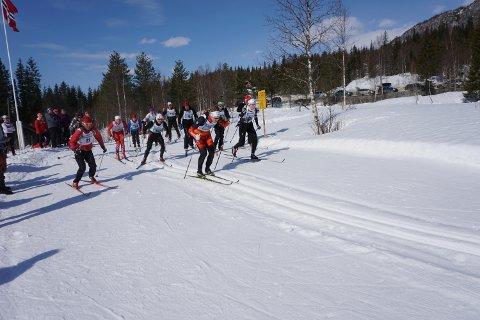49 deltakere stilte til start på årets Hammernesrenn.