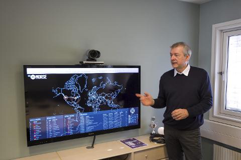 Avdelingsleder for Ateas Bodø-kontor, Dag Frølich. Sikkerhet innenfor IKT.