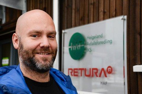 Kommunikasjonsansvarlig i HAF, Geir Benden håper folk er tålmodige med dem i jula.