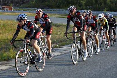 PÅ BANE: Rana sykkelklubb har lenge lekt med tanken om et større ritt på ACR. I september skjer det.Foto: Ketil Monsen