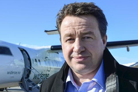 Bidra: Kjell Idar Juvik sier han skal bidra til tidlig oppstart for flyplassen.