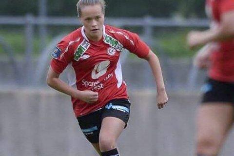 Scoret: Ingrid Altermark sendte Arna Bjørnar i ledelsen. Foto: Tore Thorsen
