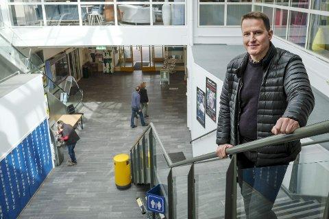 Nytt styret: Ørjan Skonseng fortsetter som styreleder ett år til i Ranaregionen Næringsforening. Han er fornøyd med det nyvalgte styret.Foto: Øyvind Bratt