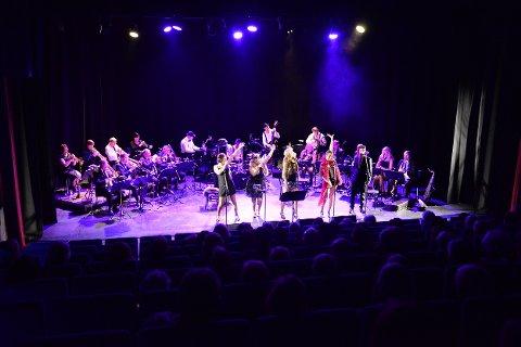 DIOC big band setter opp konsertforestillingen Chicago på Hovedscena på Nordland Teater.