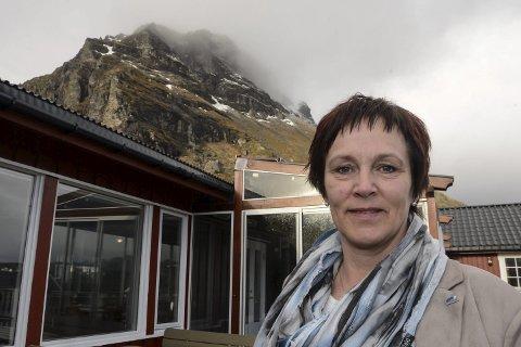FRIVILLIG: Margunn Ebbesen gjør sitt for at Arctic Race går sin gang.