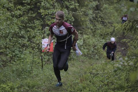 Even-Johan Kaspersen tok NNM-gull i fjor og er blant favorittene til mesterskapet i Rana til helga. Foto: Stian Forland