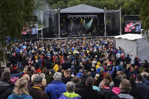 Verket: Festivalen på Revelen i Mo i Rana som i fjor samlet 15.000 mennesker fordelt på to kvelder og Underverket. I år spiller blant annet Highasakite og Postgirobygget. Foto: Trygve Ulriksen Skogseth