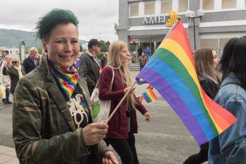 Tidenes første Pride i Rana ble også en økonomisk suksess. Vi skal om ikke lenge starte planleggingen for 2018, sier arrangementsansvarlig Margrethe Møllevik