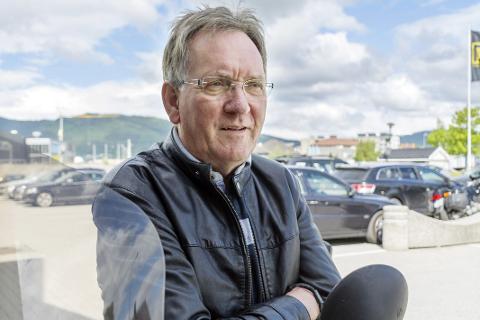 OPPTATT: Svein Olav Ludvigsen er krystallklar, navnet Nord-Norge er opptatt, og den nye nordlige regionene må finne seg at annet navn. FOTO: Vegard Anders Skorpen